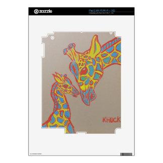 Giraffe Family iPad 2 Skin