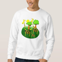 Giraffe Family Sweatshirt