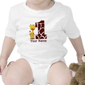 Personalized 1st Birthday Shirts