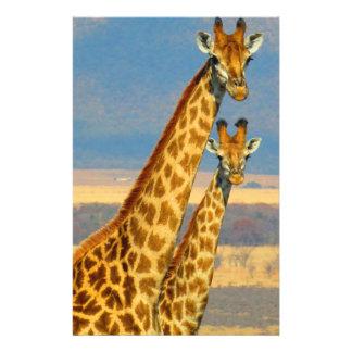 Giraffe Custom Flyer
