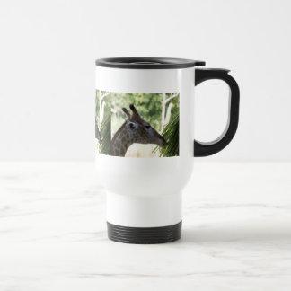 Giraffe Foraging Travel Mug