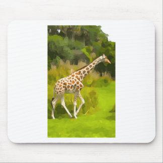 Giraffe from Safari Mouse Pad