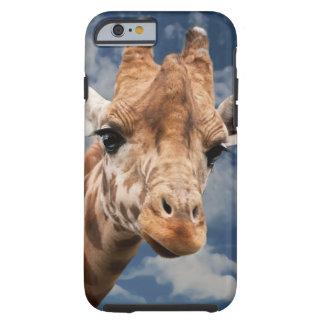 Giraffe  Funny Facial Expression I Phone 6 Case