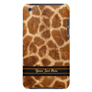 Giraffe Fur iPod Touch Case-Mate - Personalize Barely There iPod Cover