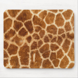 Giraffe fur mouse pad