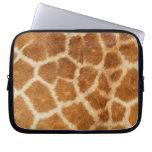Giraffe Fur Print Laptop Computer Sleeves
