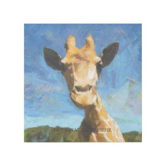 Giraffe Gallery Wrap
