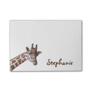 stdjura Giraffe Girly Name Post it Notes