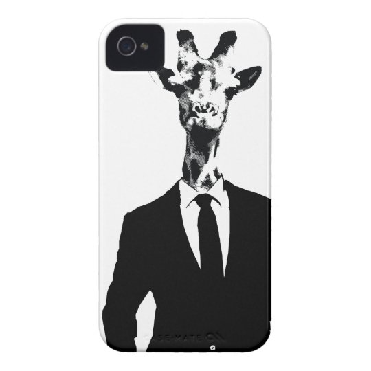 Giraffe Guy iPhone 4 & 4s Cover