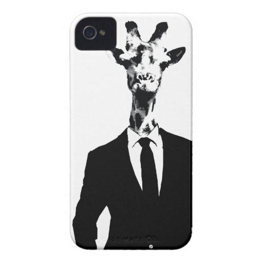Giraffe Guy iPhone 4 & 4s Cover iPhone 4 Case-Mate Case
