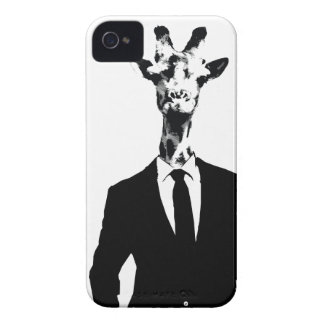 Giraffe Guy iPhone 4 & 4s Cover Case-Mate iPhone 4 Cases