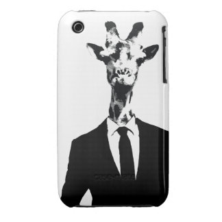 Giraffe Guy iPhone 4 4s Cover iPhone 3 Cover