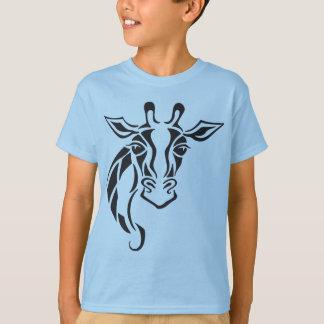 Giraffe Head Tattoo Art T-Shirt