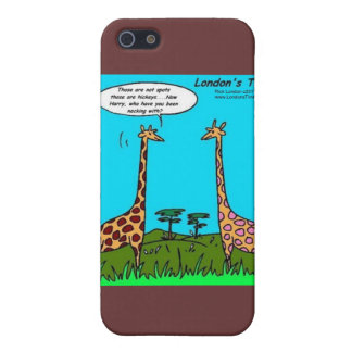Giraffe Hickeys Funny Gifts Mugs & Cards Case For iPhone SE/5/5s