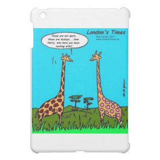 Giraffe Hickeys Funny Gifts Mugs & Cards iPad Mini Cover