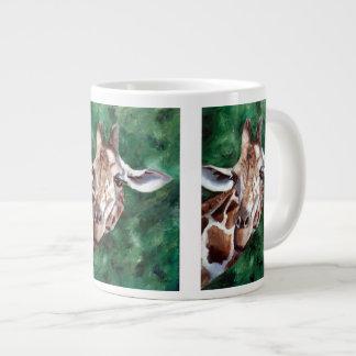 Giraffe I'm Up Here Giant Coffee Mug