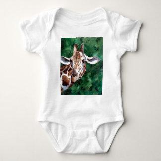 Giraffe I'm Up Here Infant Baby Bodysuit