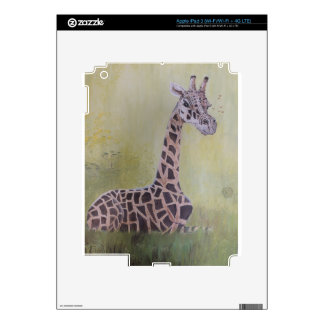 Giraffe in Africa iPad 3 Decals