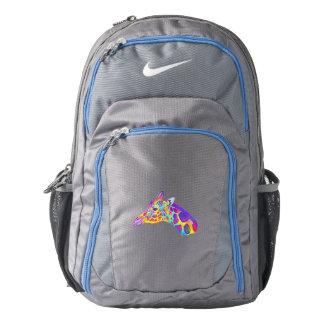 Giraffe in Colors Nike Backpack