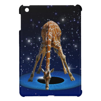 GIRAFFE IN CREATION iPad MINI COVERS