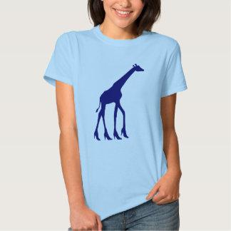 Giraffe in High Heels T-Shirt