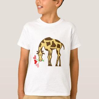 Giraffe In Love T-Shirt