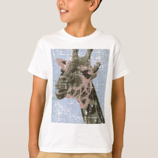 Giraffe in old picture T-Shirt