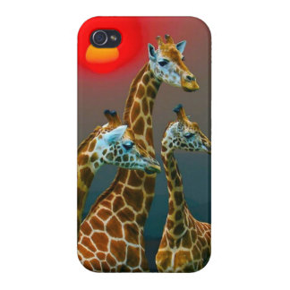 Giraffe in Sunset iPhone Case