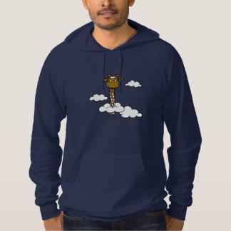Giraffe in the clouds - Sweet Long Neck Hoodie