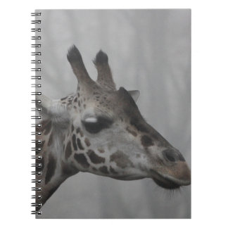 Giraffe in the Fog Notebook