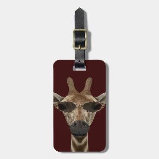 Giraffe Incognito Luggage Tag