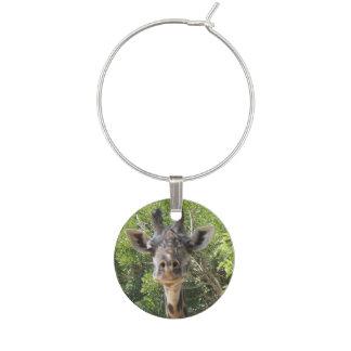 Giraffe Individual Wine Charm