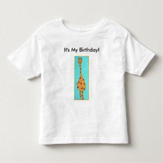 giraffe, It's My Birthday! T-shirt