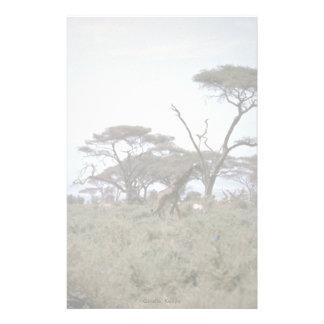 Giraffe, Kenya Stationery Paper