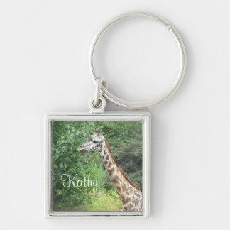 Giraffe Keychain