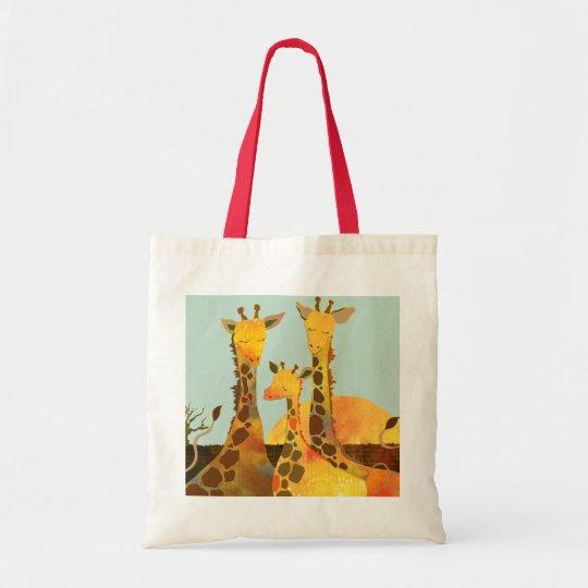 Giraffe Kingdom in Africa Tote Bag