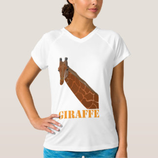 Giraffe Ladies Performance Micro-Fiber Sleeveless T-Shirt