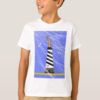 Giraffe Light House T-Shirt