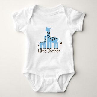 Giraffe Little Brother Baby Bodysuit