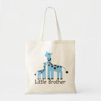 Giraffe Little Brother Canvas Bags