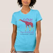 Giraffe Love -- World Giraffe Day T-Shirt