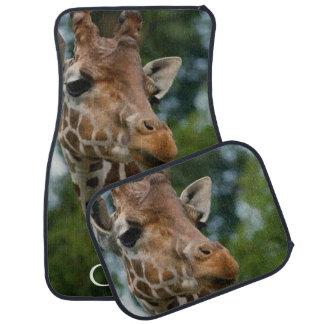 Giraffe Lovers Art Car Floor Mat