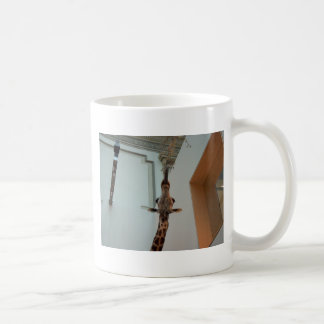 Giraffe, luckier than Marius; model 1 Coffee Mug