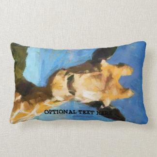 Giraffe Lumbar Pillow