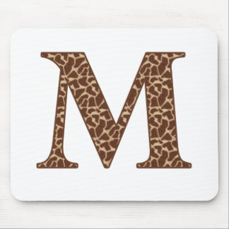 Giraffe M Mouse Pad