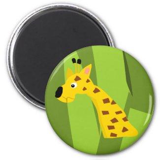 Giraffe Magnet