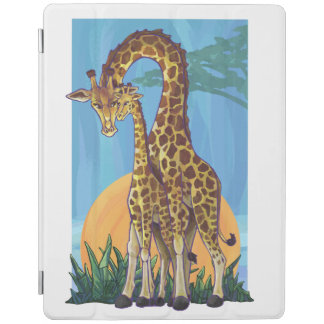 Giraffe Mama and Baby iPad Smart Cover