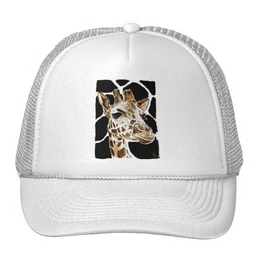 giraffe mesh hat