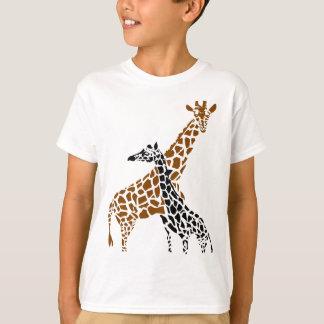 Giraffe Mother and Child T-Shirt
