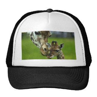 Giraffe Mother's Love Mesh Hat